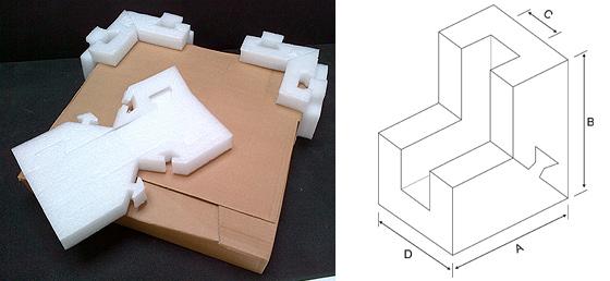 U Shape Foam Corner Protectors