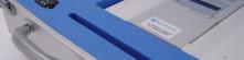 BLUE PLASTAZOTE DISPLAY CASE INSERT