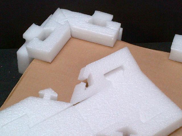 Foam Packaging End Caps & Inserts   Foam Packaging Solutions