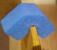 Blue Foam Edge Protectors