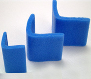 Blue Foam L Section Edge Protectors