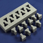 Pressed foam parts