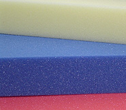 Coloured Polyurethane Foam Sheets